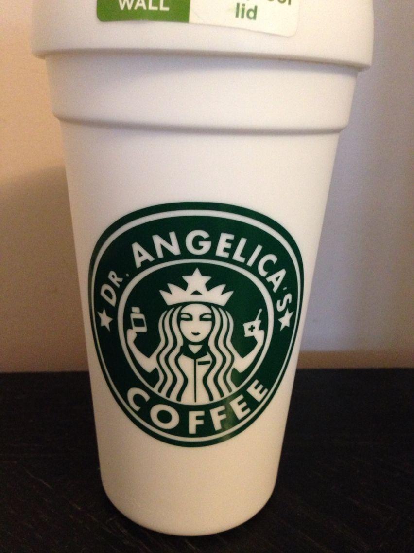 Pharmacist starbucks mug