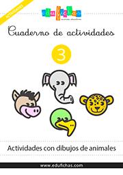 Cuadernillo de actividades con dibujos de animales httpwww