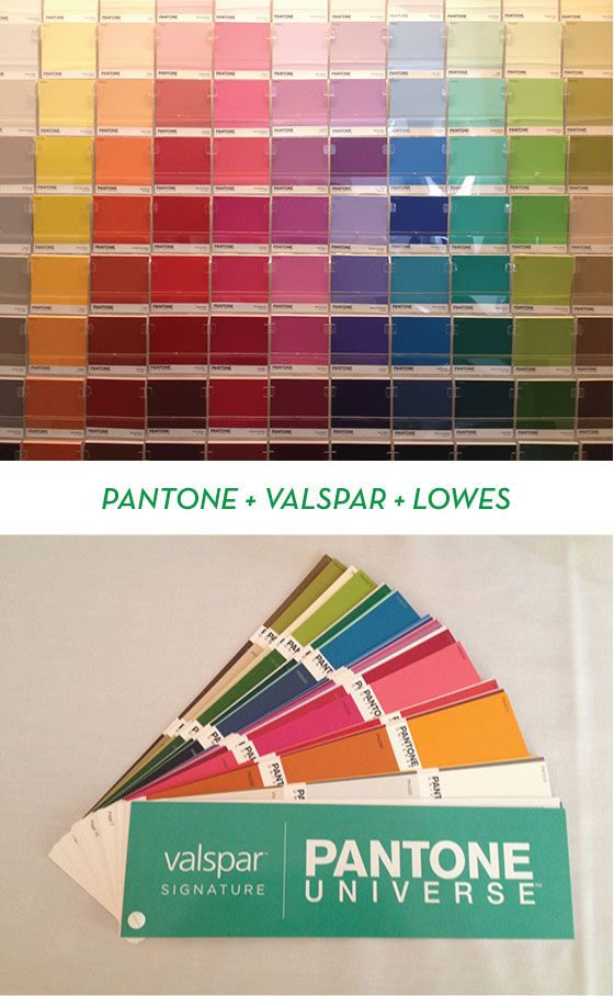 Using Colour With Confidence: Color With Confidence: Pantone + Valspar + Lowe's