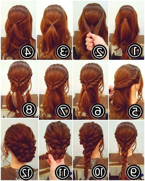 Easy Updos For Medium Hair Pinterest Hair Long Hair Styles Medium Hair Styles