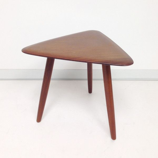 Best Solid African Teak Side Table By Jan Kuypers For Imperial 400 x 300