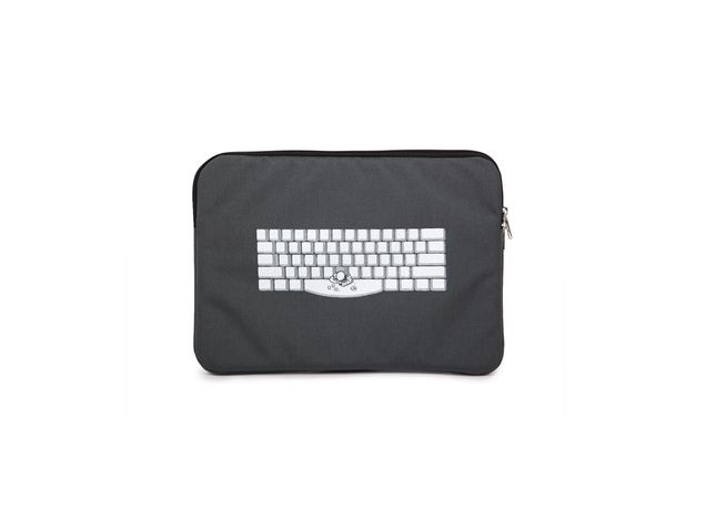 "Threadless 13-inch laptop case ""Spacebar"" by Tomas De Santis - $24.95 -  Repin your favorite laptop case before 7/13 for your chance at a 25 dollar Threadless gift code!"