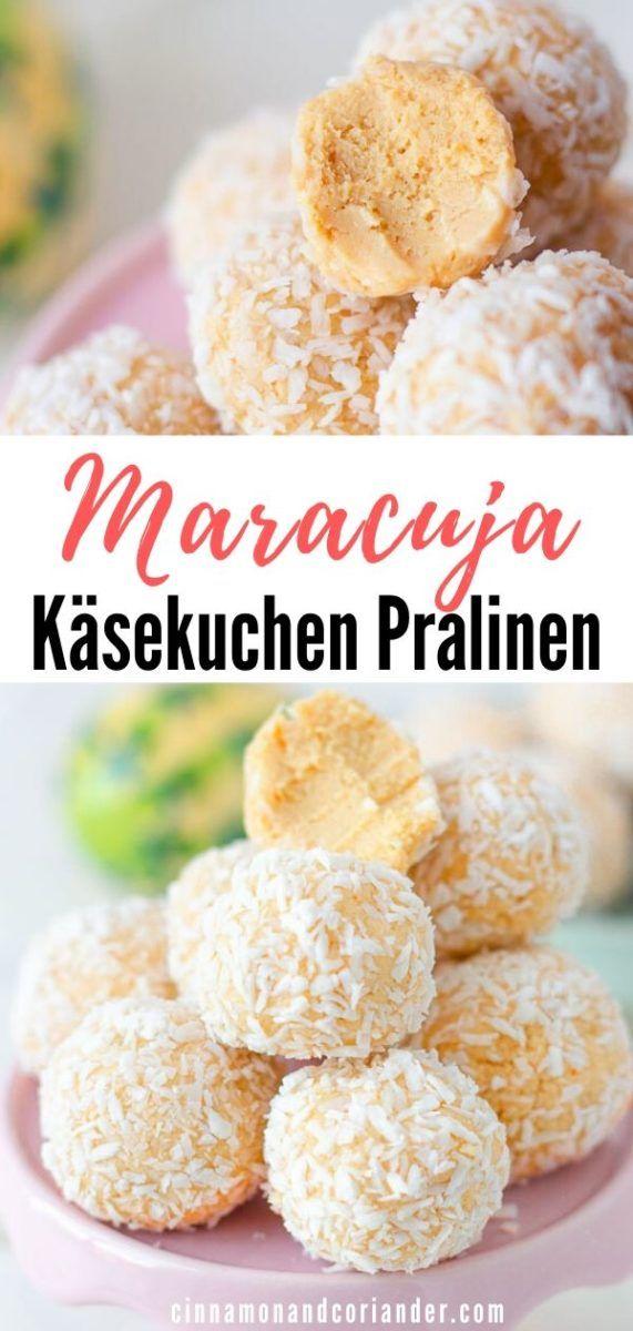 Photo of Maracuja Käsekuchen Pralinen Einfach Selber Machen