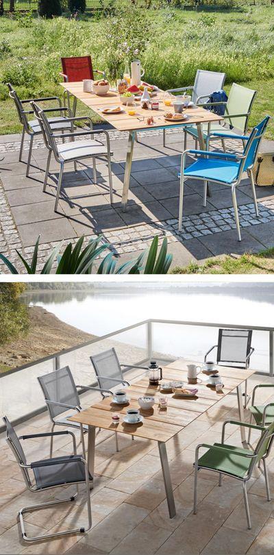 gartenmobel fur terrasse, moderne sitzgruppe für garten und terrasse | gartenmöbel | pinterest, Design ideen