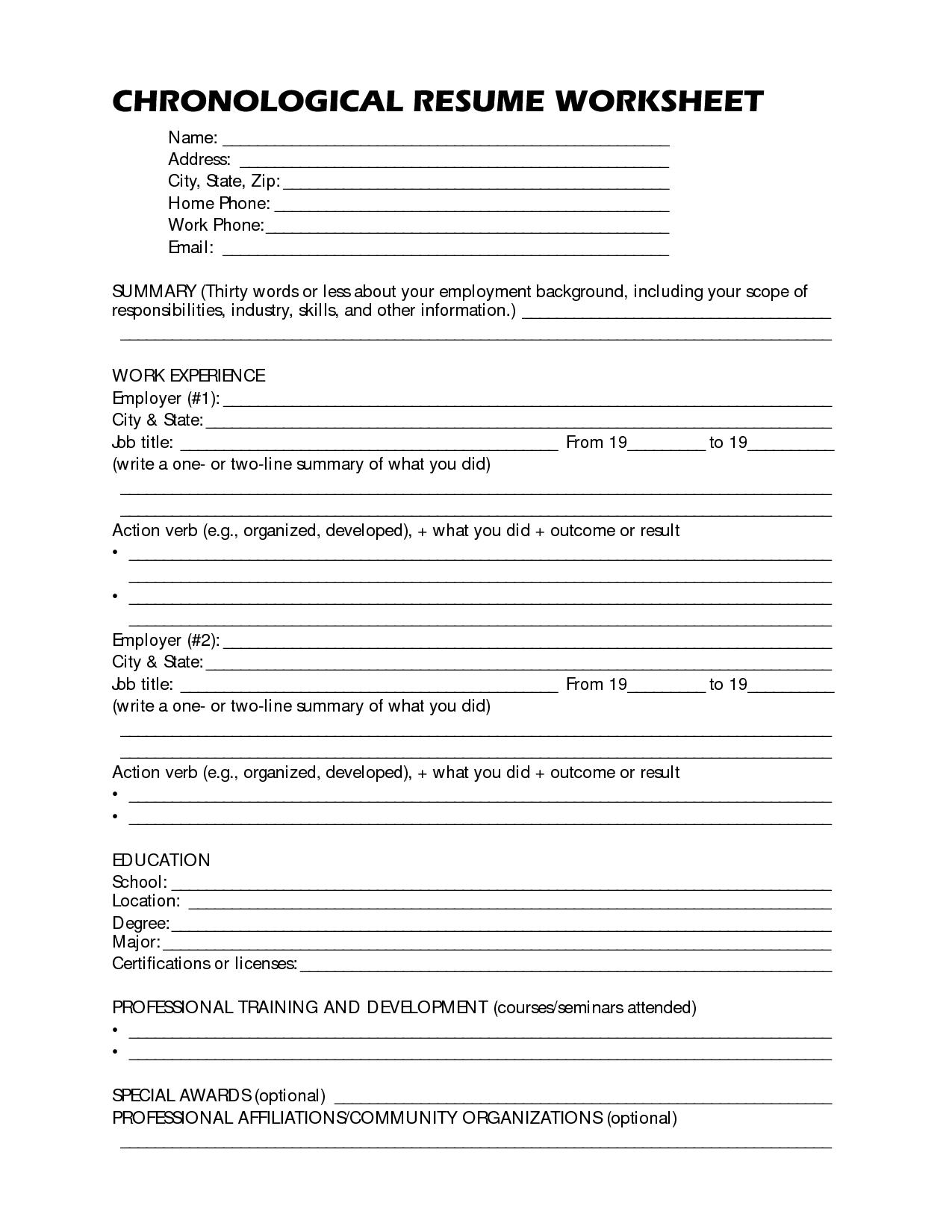 resume builder worksheet jet engine mechanic accounts payable job
