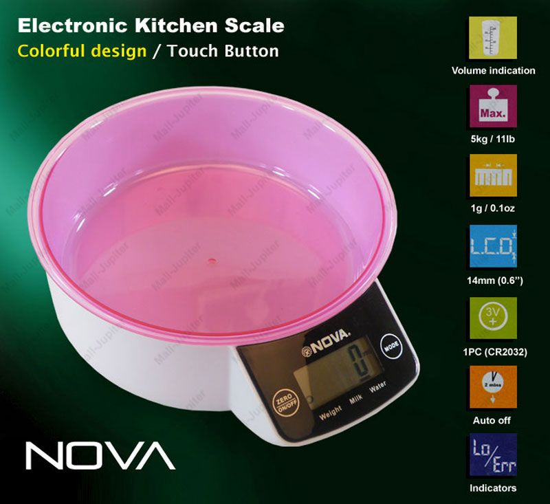 5kg Kitchen Weight Weighing Scale 11lb W Bowl 03 Online Best Prices In India Rediff Ping
