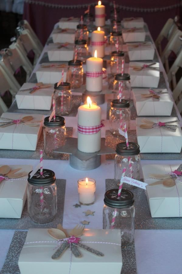 Under the stars tween teen outdoor birthday party planning for 13th birthday decoration ideas