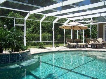 modern patio by Carolina Home Exteriors | Indoor Pool Ideas ...