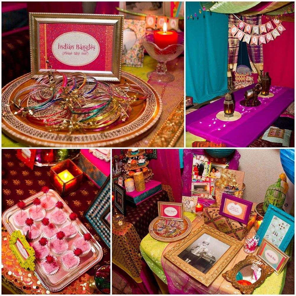 Bollywood Night Party Ideas Decorations Theme Kitty