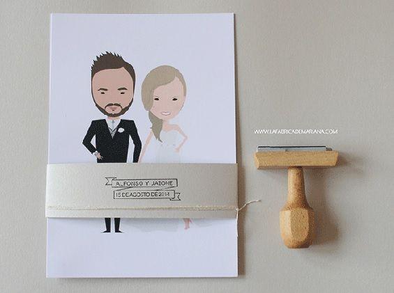 invitaciones de boda originales wedding Pinterest Wedding and - invitaciones para boda originales
