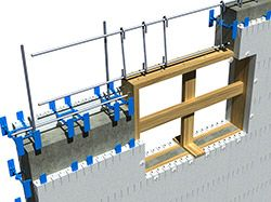 Insulated Concrete Forms Icf 3d Drawings Insulated Concrete Forms Small House Design Concrete Forms