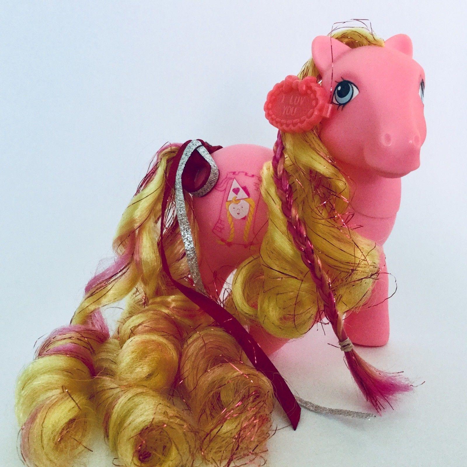 Details Sur Mon Petit Poney Vintage G1 Hasbro Raiponce Correspondance Afficher Le Titre D Origine Vintage My Little Pony Pony My Little Pony