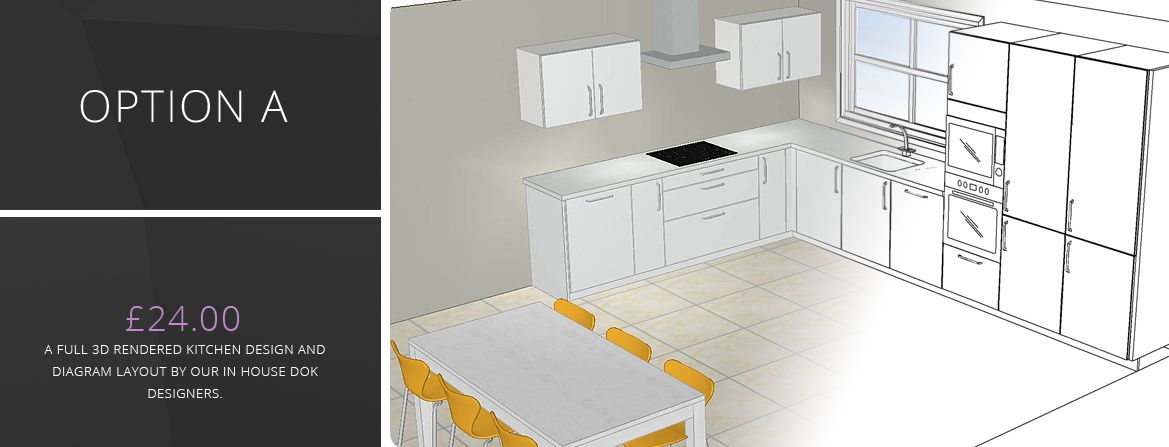 Kitchen Design Online By DOK: 3D Kitchen Design   Online Design Service  Recommen.