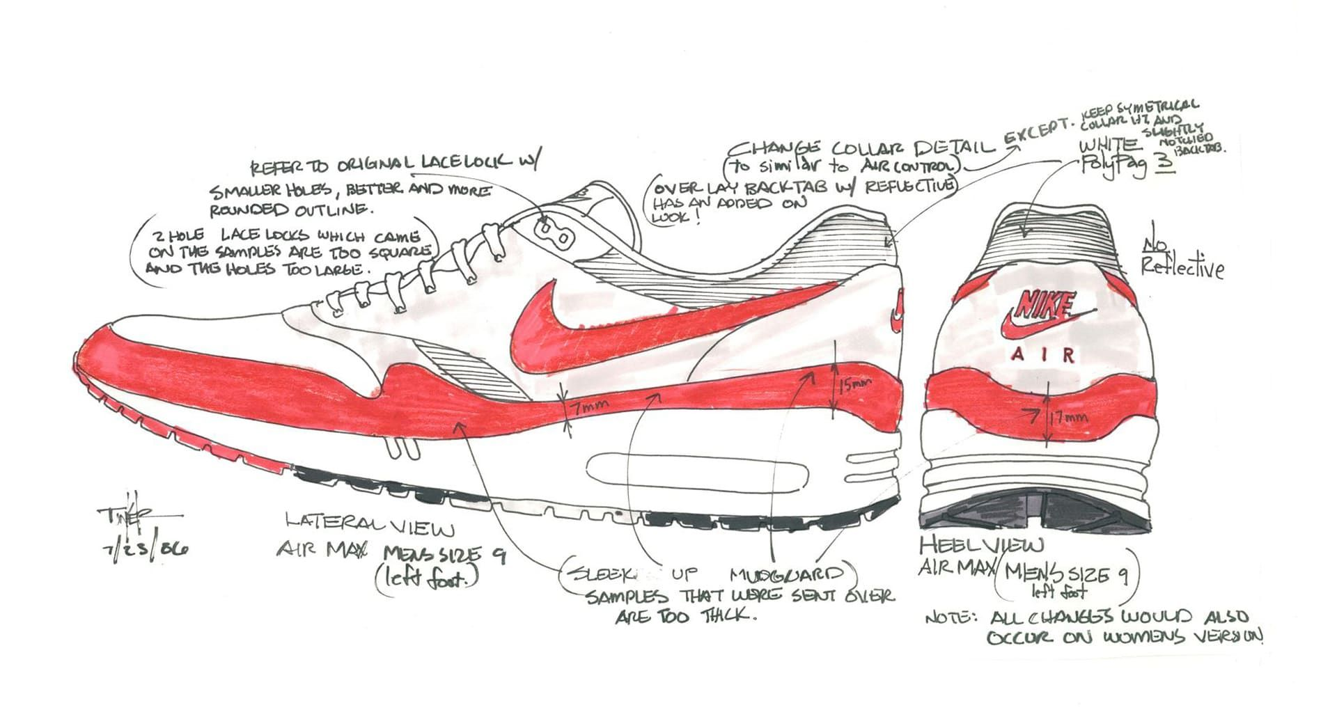 Nike air max behind the design shoe sketchesdesigns pinterest