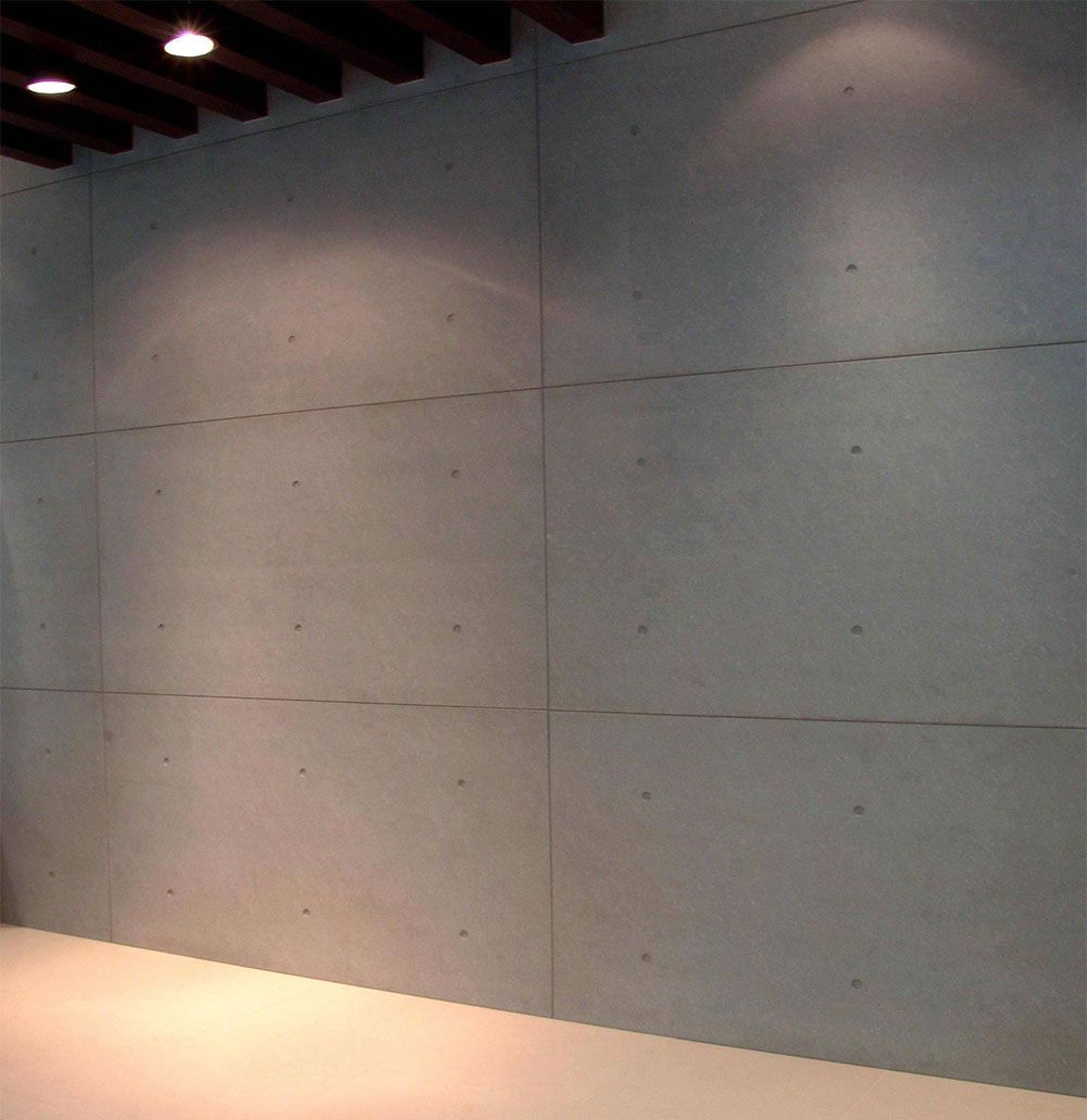 Install Fiber Cement Panels As Interior Cladding With Amazing Performance Of Fireproof Waterproof Sound And Heating Isolation Impact Resistance