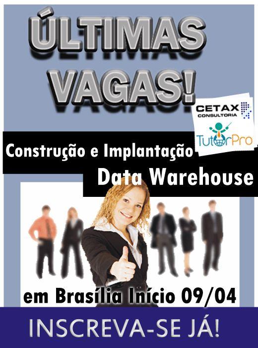 Curso em Brasília DW2. Turma confirmada últimas vagas! Detalhes http://ow.ly/9Qjbt