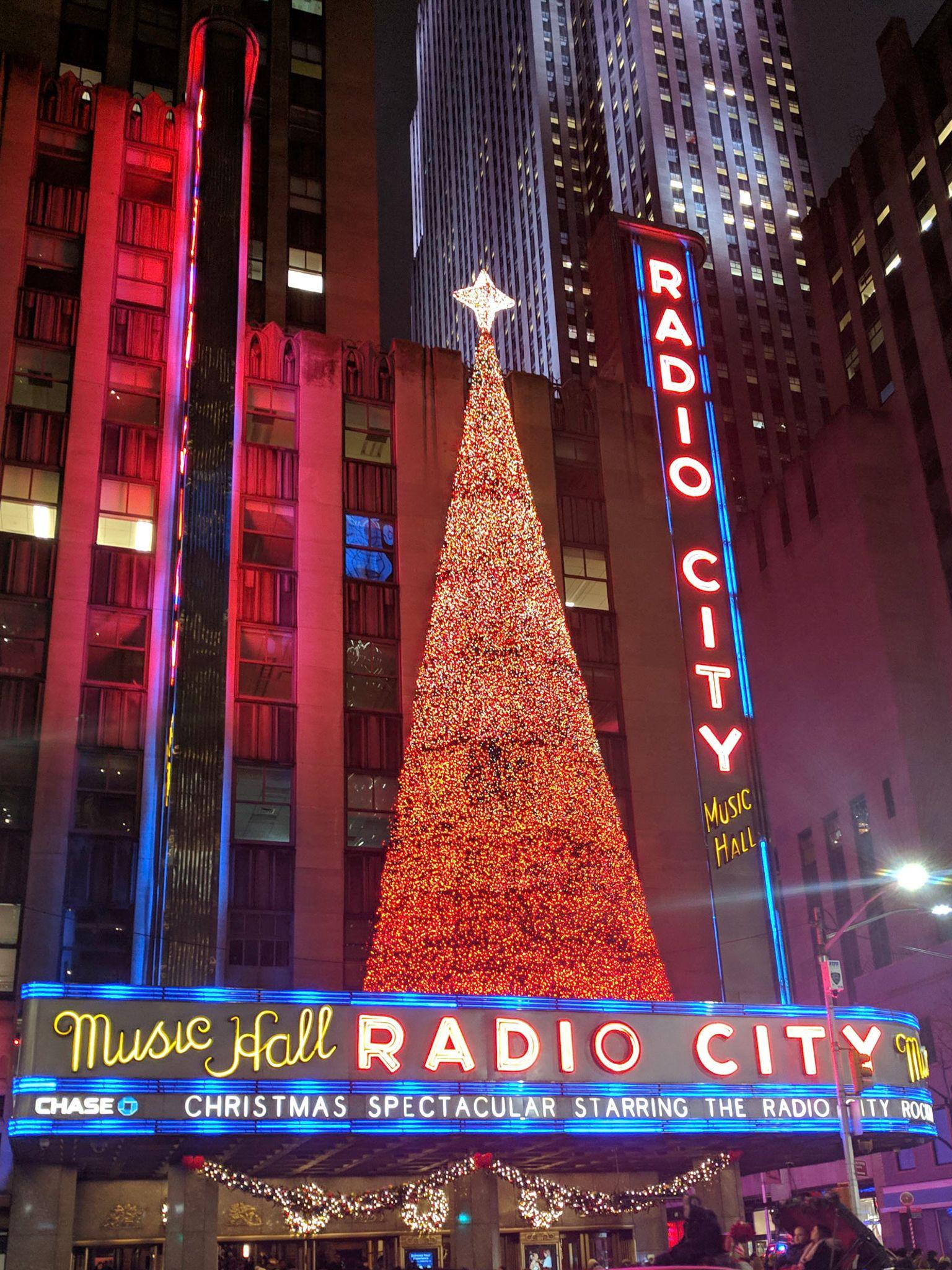 New York City at Christmas Christmas spectacular