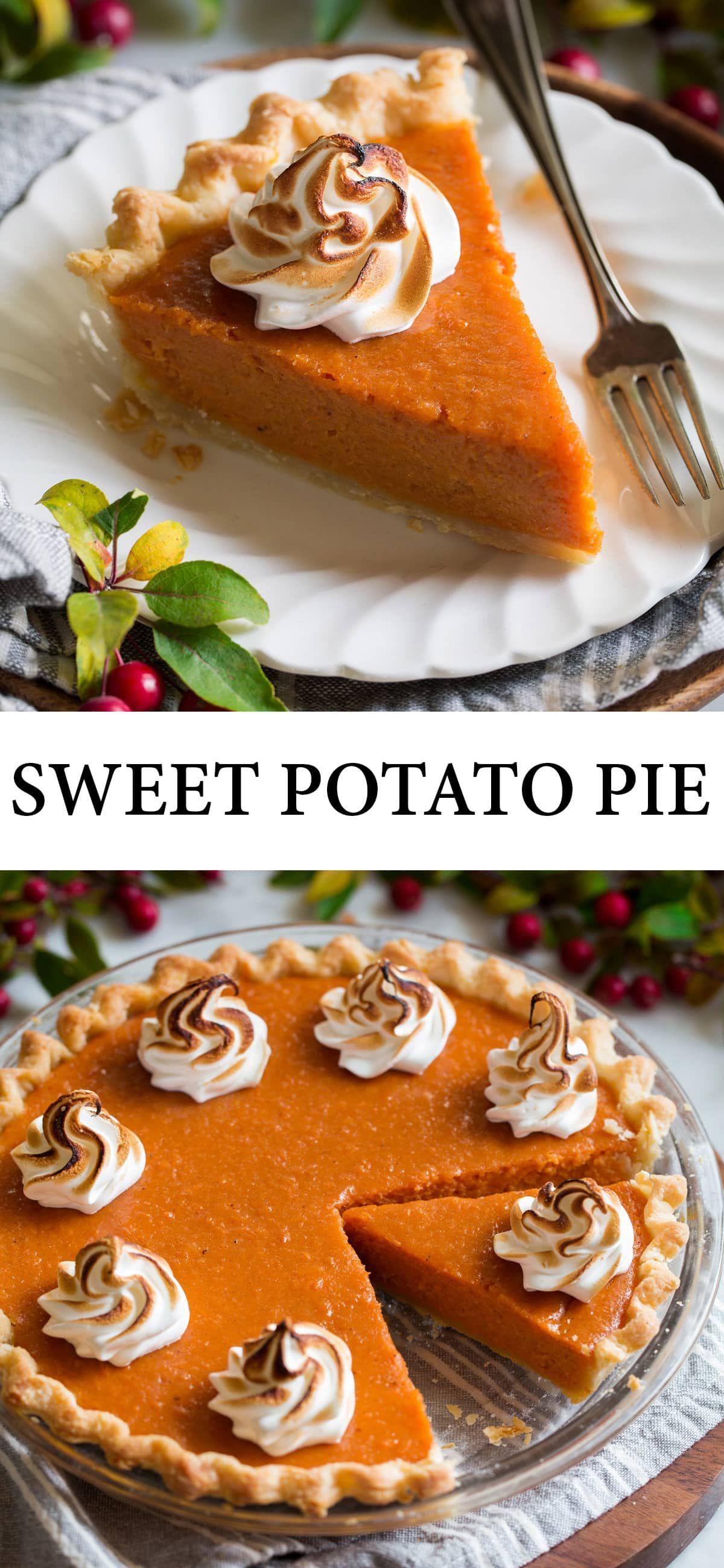 Sweet Potato Pie Recipe - Cooking Classy
