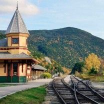 Landmarks - Yankee Magazine Crawford Station at Crawford Notch, New Hampshire