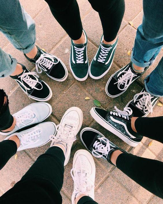 chaussure vans pour fille