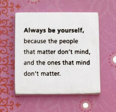 Vilmain Pewter - Always Be Yourself Paperweight