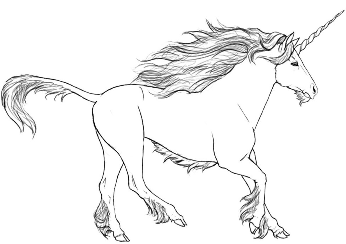 Fastet Than The Wind High Quality Free Coloring From The Category Unicorn More Printable Pictures Unicorn Coloring Pages Coloring Pages Free Coloring Pages
