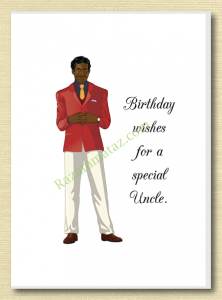 African American Uncle Birthday Card A Uncle Birthday Happy