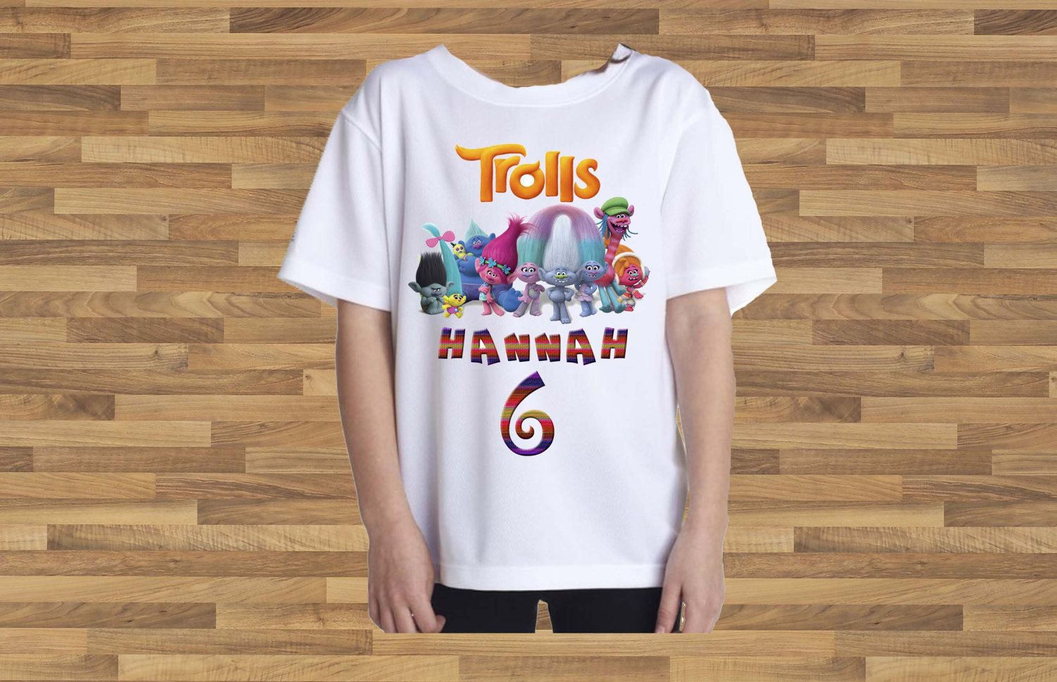 Trolls Birthday Shirt. Name and year customized. T shirt or Birthday bodysuit. Birthday shirt. Personalized Birthday Shirt. by APartyToRemember on Etsy