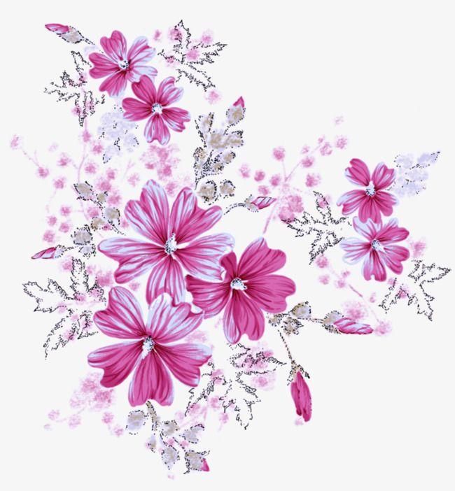 Pink Transparent Crystal Flower Crystal Flower Flower Clipart Flower Png Images