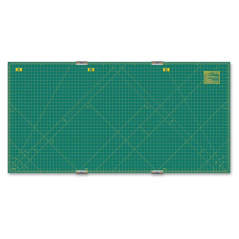 Olfa 35 X 70 Continuous Grid Rotary Mat Set Rm Clips 3 Olfa Olfa Craft Jobs Leather Stamps