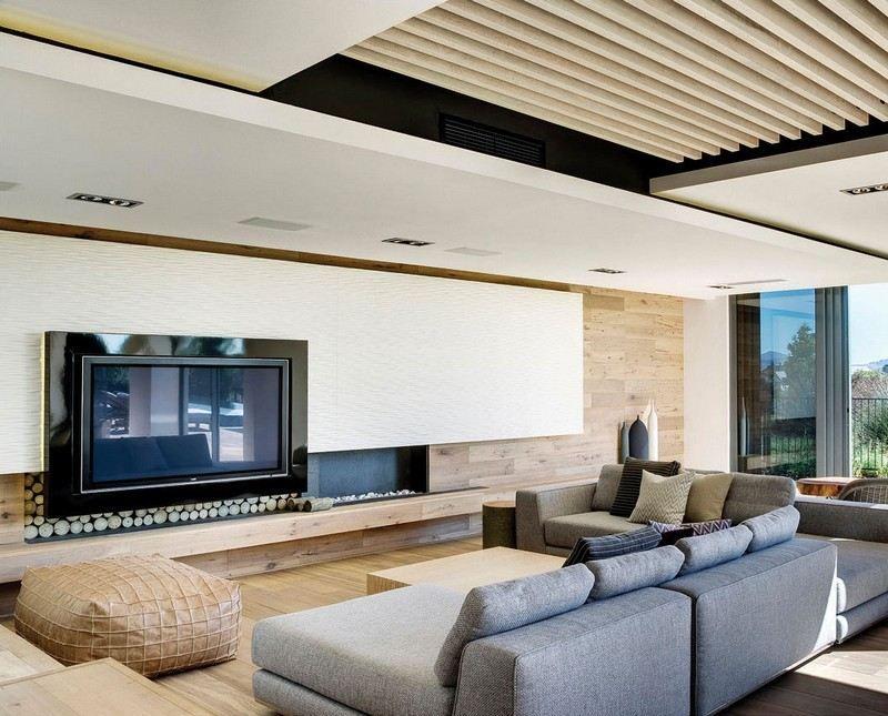 Diese schicke Wohnung setzt auf die Eleganz der neutralen Farben - idee fr wohnzimmer