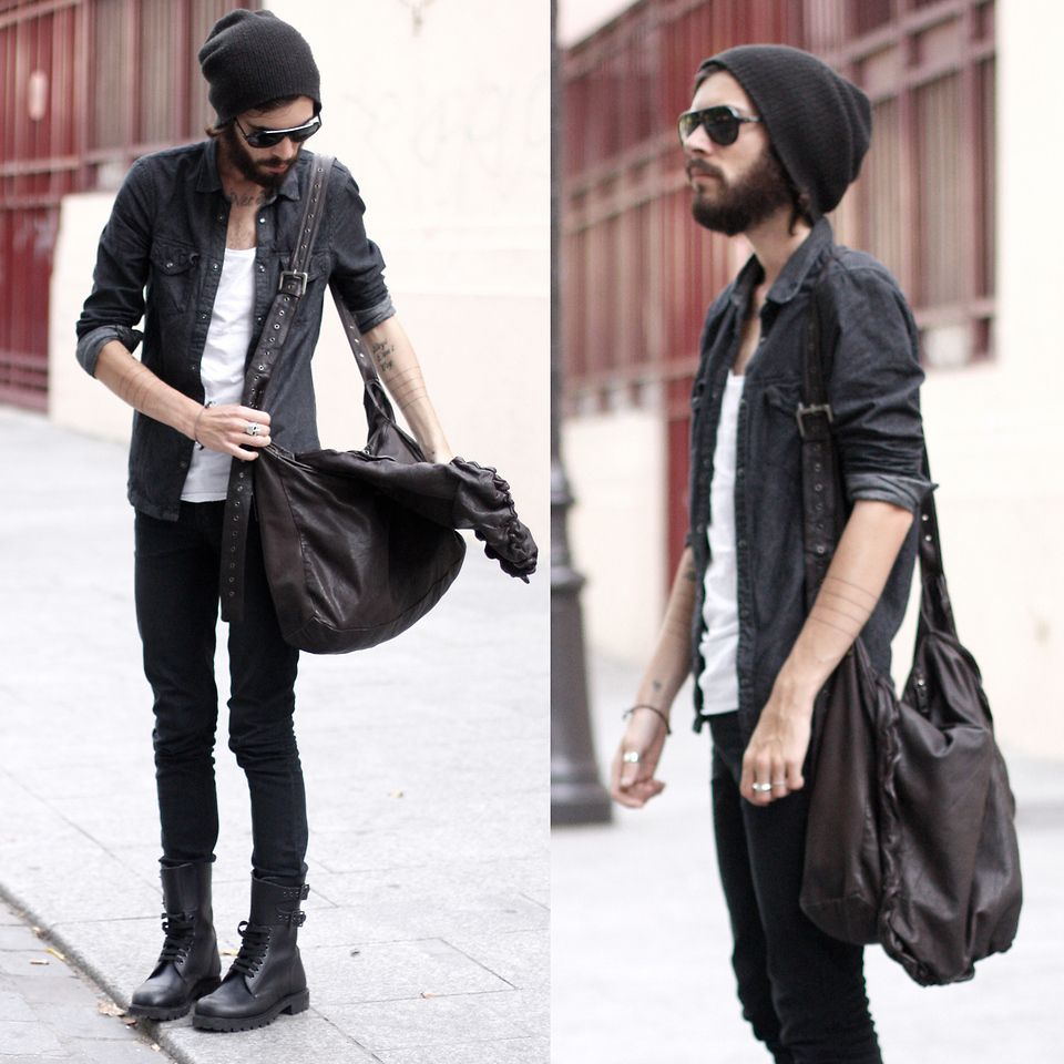 2019 year lifestyle- Hipster mens fashion photo
