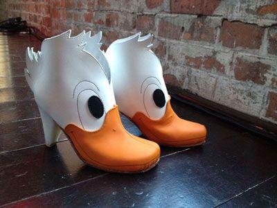 """Duck Martens"" shoes by Lotta Löfgren"