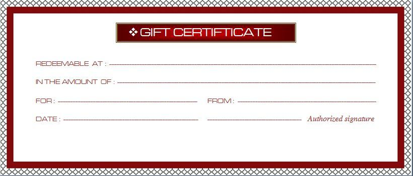microsoft word gift certificate