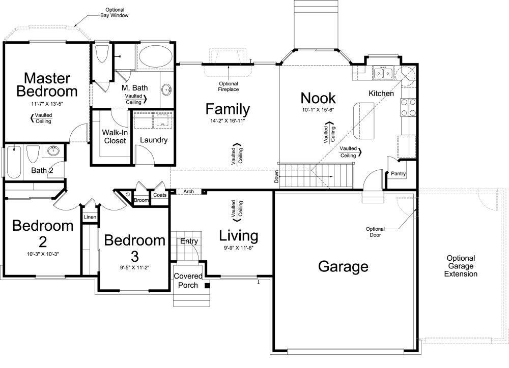 Mapleton Home Design For New Homes In Utah Floor Plans House Floor Plans Home Design Floor Plans