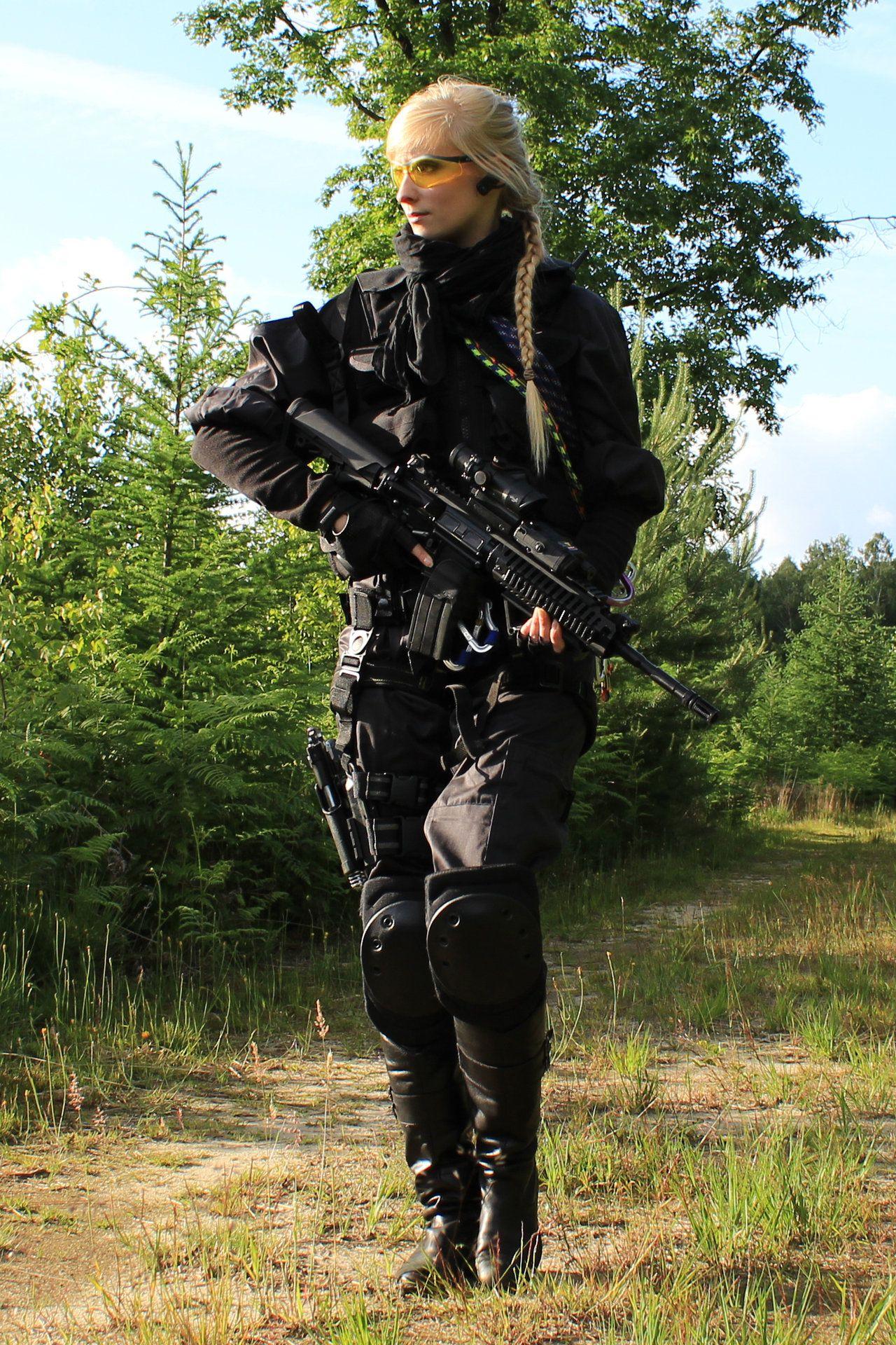 Female Universal Soldier Stock Ii By Phelandavion -2952