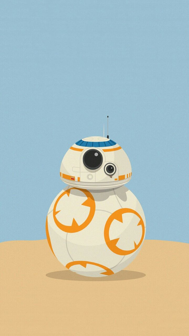 Bb8 On Weheartit Star Wars Wallpaper Iphone Star Wars