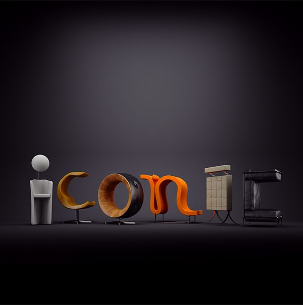 ICONIC by Kevin Devroo, via Behance | typography ...