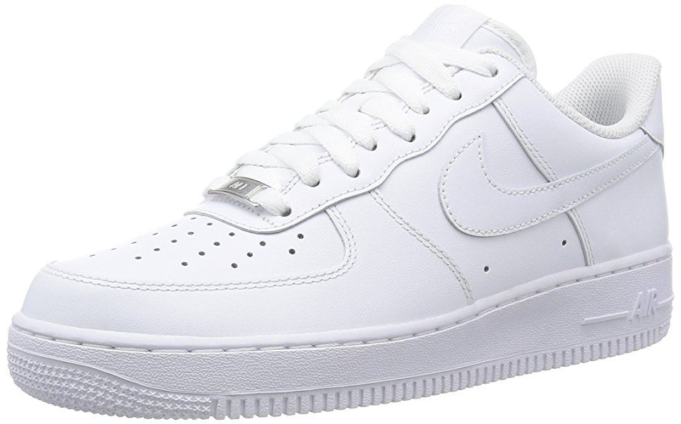 Nike Herren AIR Force 1 '07 Sneakers, Weiß, 40 EU: