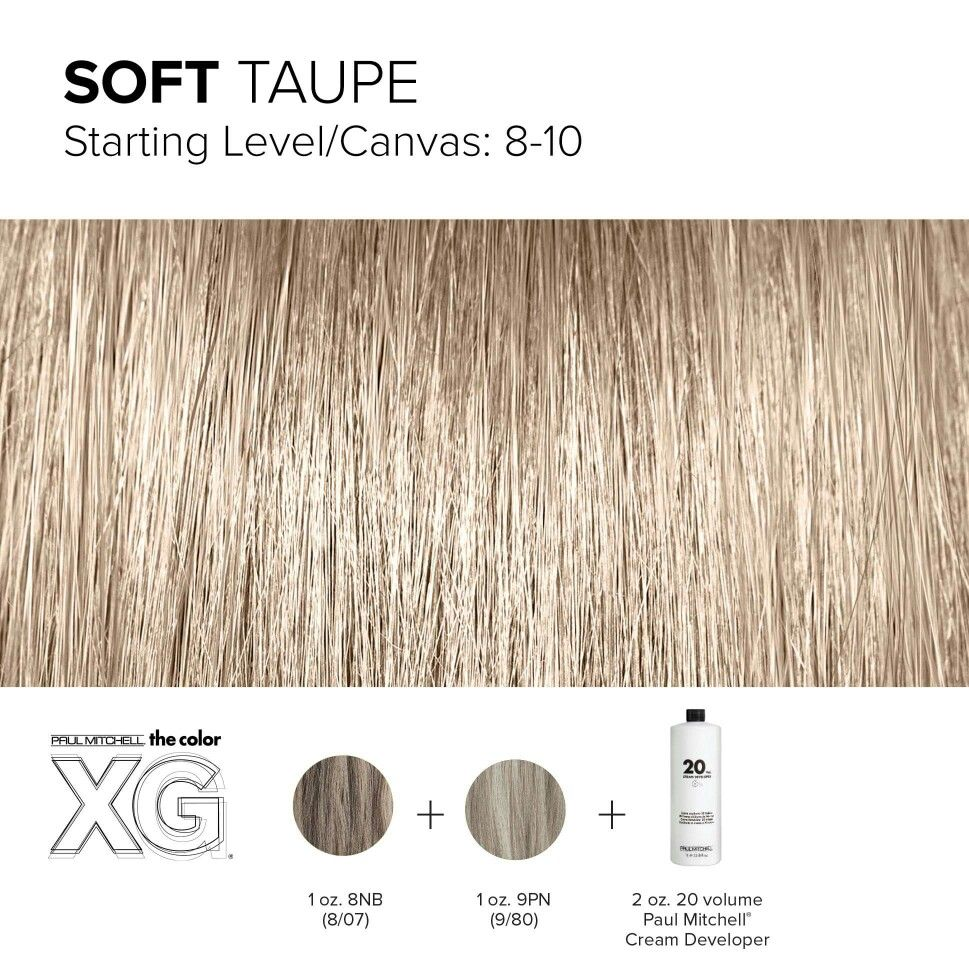Color Xg Formula Created By Paul Mitchell Blonde Beauty In 2019