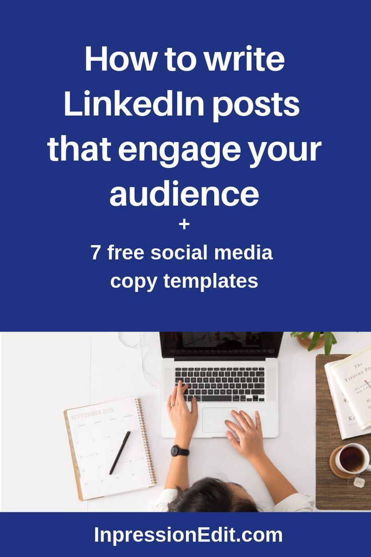 how to write linkedin posts that engage your audience. Black Bedroom Furniture Sets. Home Design Ideas