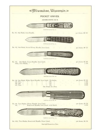 Vintage Knife Catalogs & Ads (Images & Links Only
