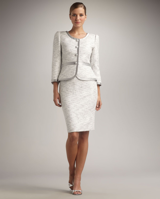 Women S White Skirt Suits 35