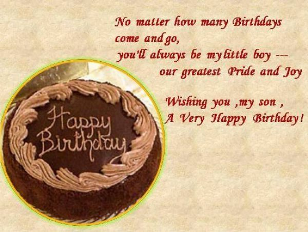 Birthday Quotes for Son turning 3 Quotes Pinterest Sons
