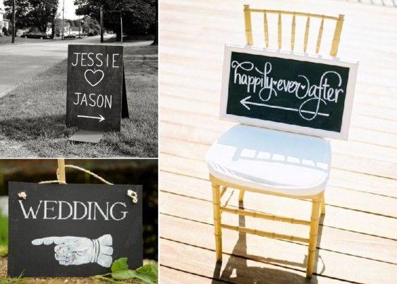 Chalkboard Wedding Ideas | Simply Peachy