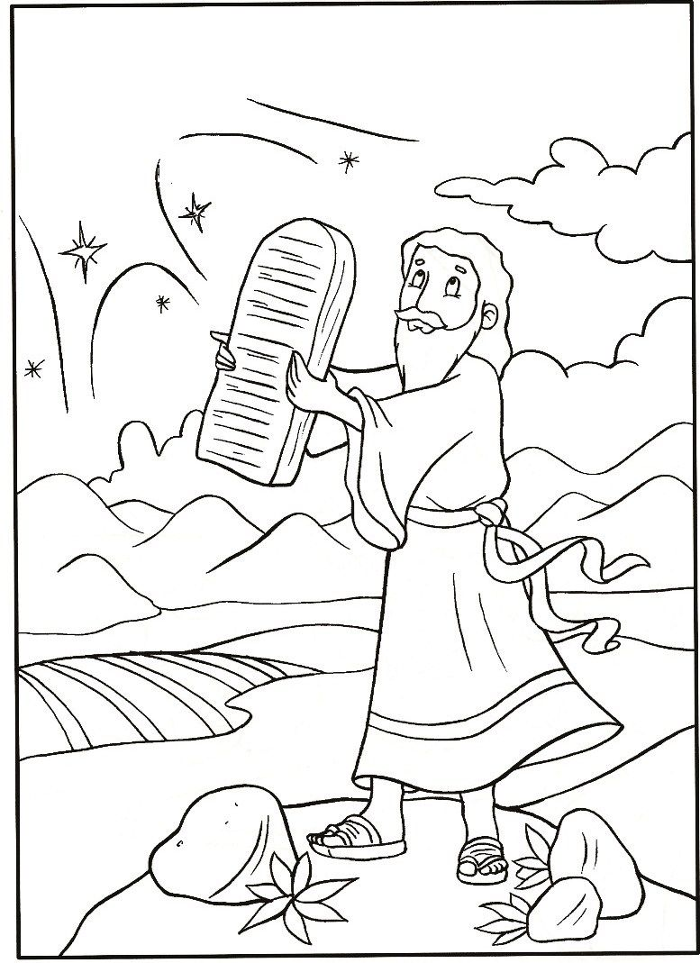 free moses on moses coloring pages kids coloring page coloring