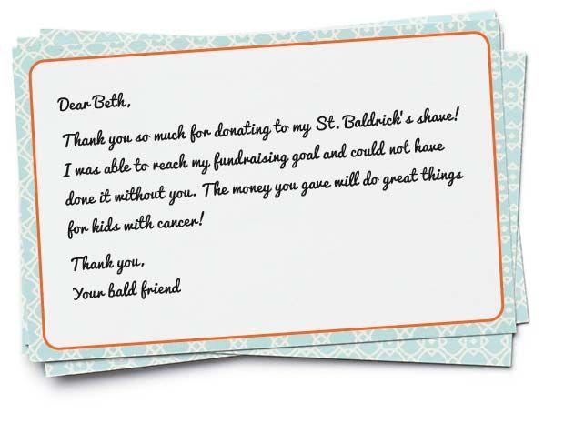 Shavee Tips St Baldricku0027s shavee Pinterest - fund raiser thank you letter
