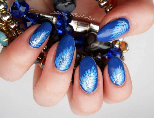 Shiny Nail Art:  #nail #nails #nailart