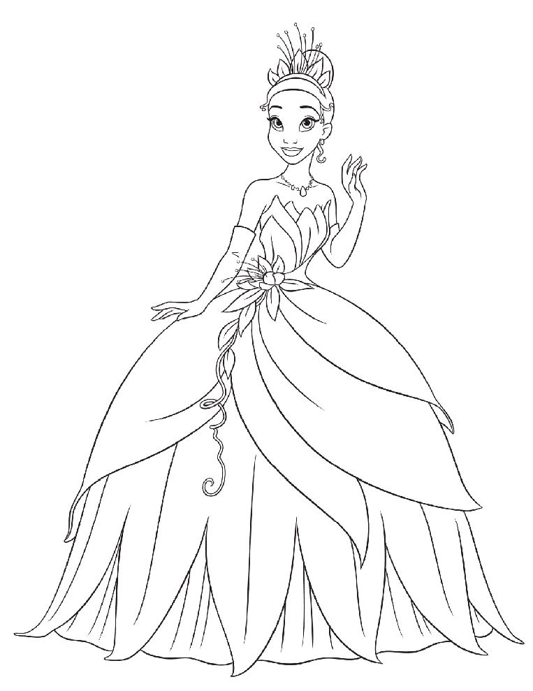 Disegni Da Colorare Principesse Disney Gratis Disegnare Su