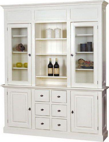 Landhaus Wohnzimmerschrank weiß - yatego.com | furniture | Pinterest ...